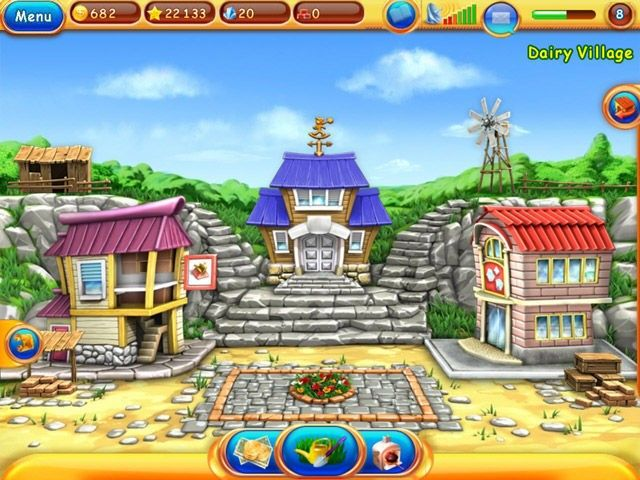 Dream Farm: Home Town, screenshot 2