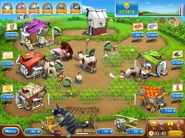 Farm frenzy 2 full indir download çiftlik oyunu