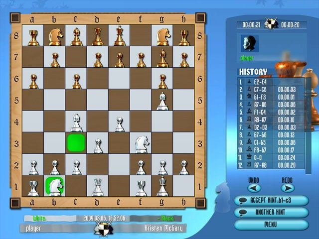 To play grandmaster chess tournament has the features you re seeking