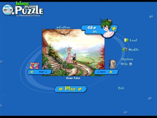Infinite Jigsaw Puzzle screenshot