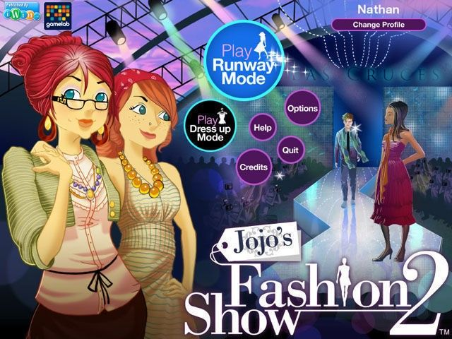 Jojo's Fashion Show 2 2.6  Main Screen.