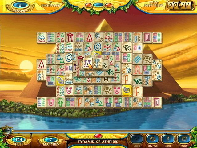 Mahjongg: Ancient Egypt screenshot