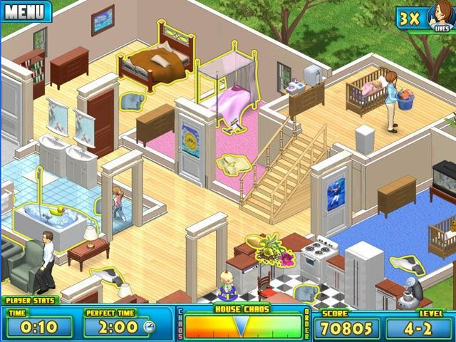All about nanny mania download the trial version for free for The nanny house layout