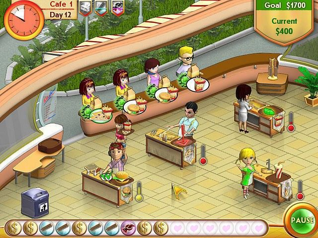 Amelie S Cafe Game Play Online