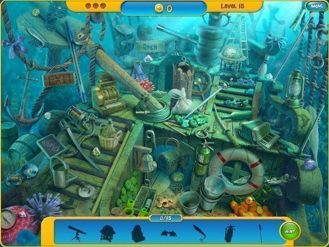 Explore The Amazing Underwater World Of Aquascapes! Play Through Some  Extremely Fun Hidden Object Sequences, Buy Beautiful Fish To Fill Your  Tank, ...