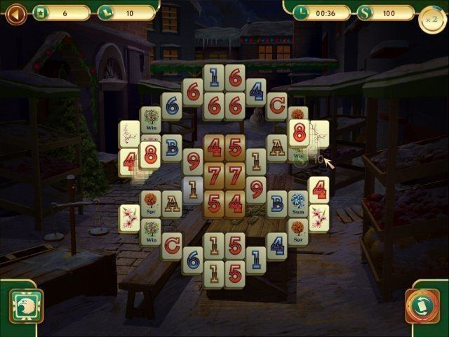All about Christmas Mahjong. Download the trial version for free ...