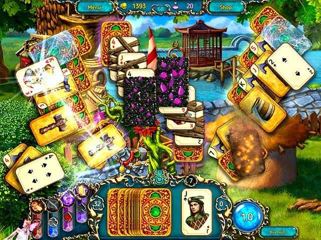 Dreamland Solitaire: Dragon's Fury