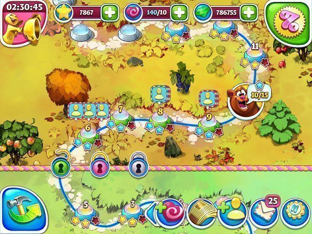 Farm Frenzy and Crazy Bear Island