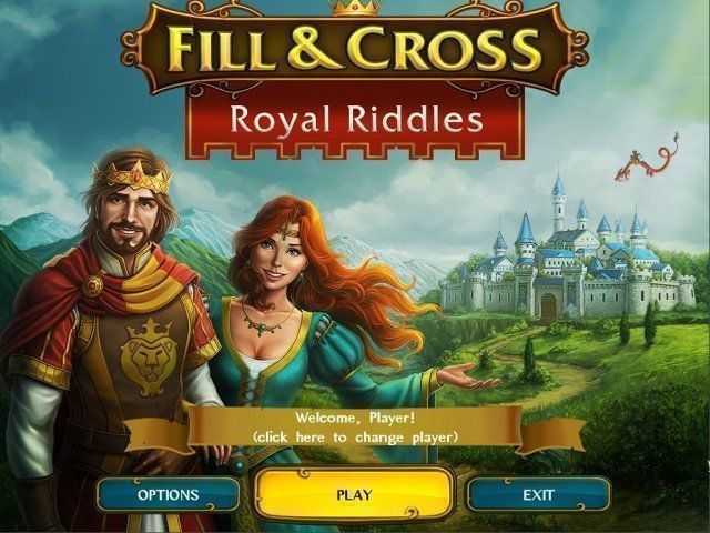 Fill & Cross: Royal Riddles