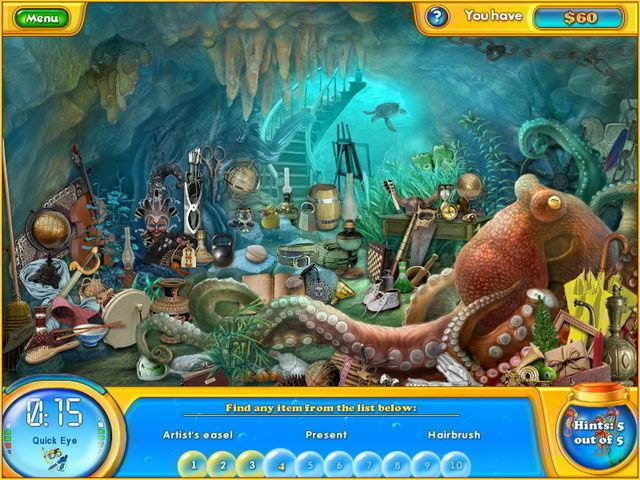 free playable online game of fishdom 2 hidden odyssey