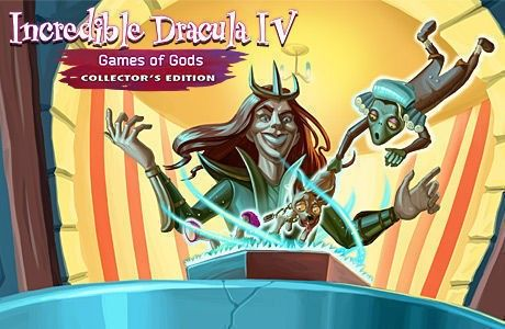 Incredible Dracula IV: Games Of Gods. Collector's Edition