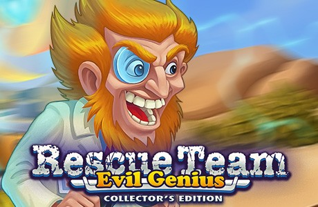 Rescue Team: Evil Genius. Collector's Edition