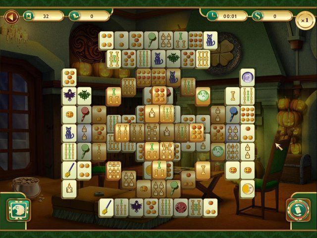 All about Spooky Mahjong  Download the trial version for